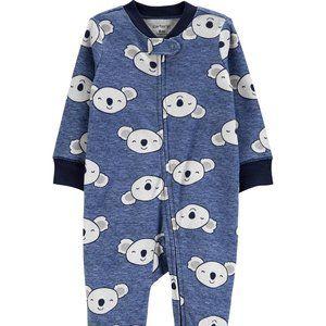 Carters Koala 2-Way Zip Sleep & Play Footies 9m